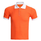 Haute qualité fait sur mesure à l'aise et en bonne santé des hommes Pique Polo Shirt