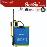 16L Mochila Manual Agrícolas de plástico do pulverizador de pressão (SX-LC16-1)