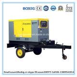 Tipo silencioso conjunto de generador diesel con la carretilla (10KW/12.5kVA)