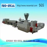 Belüftung-vorgespannte Plastikextruder-Maschinen-gewölbter Rohr-Produktionszweig