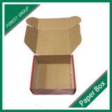 Caixa de transporte impressa costume dobrada barata do cartão