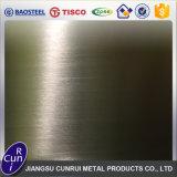 L'AISI 304 poli plaque en acier inoxydable laminés à froid
