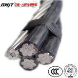 Zusammengerollte Kabel-Luftstromleitungen