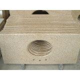 Естественное Polished/хонинговало/пылаемый камень для вымощать, Countertop гранита кухни