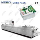 Máquina de empacotamento eficiente dos produtos láteos do queijo fresco, inteiramente automática