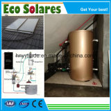 De spleet zette de ZonneVerwarmer van het Water met de ZonneCollector van de Vlakke plaat onder druk