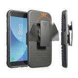5 in 1 caso protettivo di scossa del coperchio duro resistente di assorbimento per Samsung G570m con il caso di Kickstand della clip della cinghia della custodia per armi
