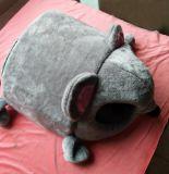 O animal de estimação fornece a casa de cão da base do cão do gato do filhote de cachorro da esteira do animal de estimação da casa do animal de estimação