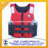 La convention Solas de gilet de sauvetage maritime personnalisé de la mousse/gilet de sauvetage pour adultes