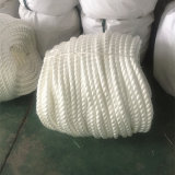 Cuerda de remolque marina 3-Strand UHMWPE de la cuerda marina de la venta al por mayor 10m m
