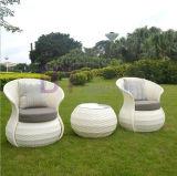 Mobilia esterna della casa del rattan del PE di svago dell'hotel del giardino di nuovo stile