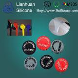 Rubber van het Silicone van het Handelsmerk van de doorschijnendheid het Vloeibare voor Etiket