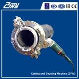 """Taglierina di tubo del blocco per grafici di spaccatura e macchina elettriche portatili Od-Montate di Beveler per 4 """" - 8 """" (114.3mm-219.1mm)"""