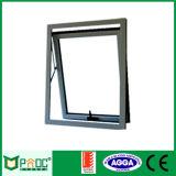 Parte superior de aluminio doble acristalamiento de la ventana de colgado para materiales de construcción