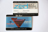 Papier- oder Plastik-NFC Visitenkarten und magnetischer Streifen-Karte