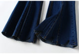 Preço de retalho 59.90/€ à alta qualidade requisita calças de brim magros irregulares