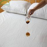 100% hipoalergénica impermeable transpirable de cubrir la protección de los ácaros del polvo Alergia cubre protector de colchón impermeable