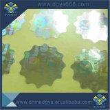 De veiligheid Aangepaste die Sticker van het Hologram van de anti-Vervalsing van het Ontwerp in China wordt gemaakt