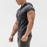 Tshirt curto de Hoody do projeto dos t-shirt da capa dos meninos da luva