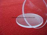 Высокий показатель передачи оптический УФ прозрачного кварцевого стекла диск