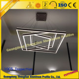 Aluminiumprofil für LED-hängende Lampe mit CNC