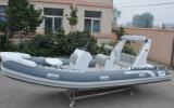Liya 17pieds de console centrale en PVC Rib bateau 520