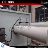 Machine jumelle conique d'extrudeuse de PVC de vis avec le modèle électrique de tableau