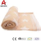 Mantas lindas tejidas algodón más barato muy caliente del bebé de la promoción