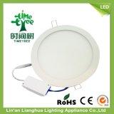 Controlador de aislamiento de aluminio de 12W 85-265 V Panel LED panel LED LUZ