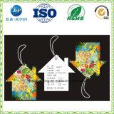 Impression couleur Design personnalisé Sac pendre les tags avec chaîne de caractères (jp-T007)