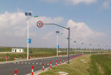 110W 12m LED Straßenlaterne-Solarlicht