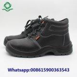 Кожаный против скольжения масла кислоты Reistant водонепроницаемые защитные ботинки