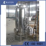 Carbono activado Industrial de aço inoxidável do filtro de água do filtro de carbono