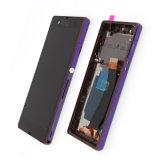 Pantalla Completa LCD Tactil Sony&Nbsp; Xperia Zの詐欺のMarcoの紫斑病