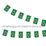 Bandeira pequena da estamenha do ventilador de futebol
