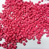 폴리에틸렌 로즈 빨간 플라스틱 색깔 Masterbatches 펠릿