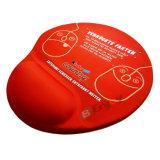 젤 손 손목 방석 빨강을%s 가진 마우스 패드를 인쇄하는 주문 승화