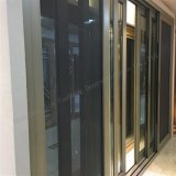 Slidingdoor de aluminio resistente de gama alta con teledirigido de cristal