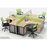 가열된 현대 사무실은 5 Seater 코너 직물 소파를 이완한다