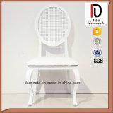 현대 알루미늄 프레임 하얀 가죽 연회 의자 최신 판매