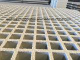 Grata della plastica di rinforzo vetroresina usata per gli ambienti corrosivi