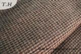 黒いシュニールのソファーの家具ファブリック