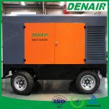 compressor van de Lucht van de Schroef van de Dieselmotor van 180cfm Cummins de Beweegbare voor Zandstraaltoestel