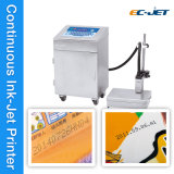 Установите флажок бумаги молока Cij Дата кодирования струйный принтер (EC-JET920)