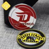 Хорошее качество пользовательских Металлический бейдж булавка медаль медали на заводе