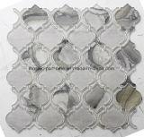 Bunter Wasserstrahlausschnitt-unregelmäßige Glasmosaik-Fliese
