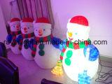 Le temps des vacances d'usine Outdoor LED 3D Motif de la rue Bonhomme de neige à la lumière de vacances
