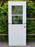 Populares de la puerta de acero americano solo vidrio interior puerta de metal (Ef-A024)