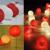 Симпатичные света шарика хлопка Вс-Спички СИД для украшения дома/комнаты/Bookstore