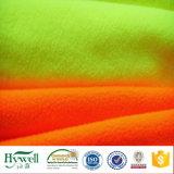 Tessuto arancione del panno morbido